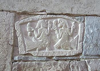 Image of stone carving at Bardi Petoia1