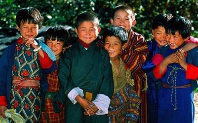Image of Bhutanese Children