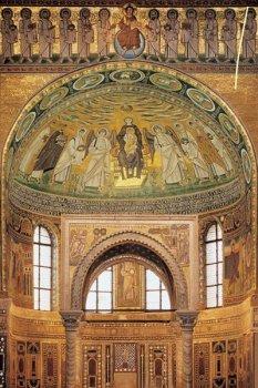 Image of St Euphrasius' church in Porec, Croatia