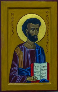Icon of Mark the Evangelist by Peter Blackwood