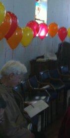 Image of Hugh O'Neil at the Pentecost Service