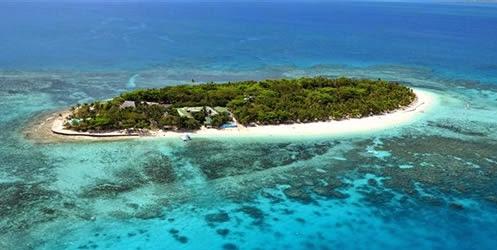 Aerial view of Treasure Island
